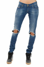 DIESEL Woman Destroyed Denim GRUPEE Jeans New with tags and Original