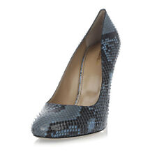 DSQUARED2 D2 New Woman blue python Leather Pumps Decollettes Shoes Made Italy