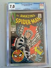 Amazing Spider-Man #58 CGC 7.0 VF OW pages Ka-Zar & Zubu Marvel comics spiderman