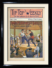 Vintage Boxing Posters and framed pictures