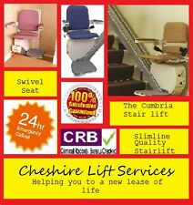 *WOW SLIMLINE CUMBRIA STAIRLIFTS STAIRLIFT STAIR LIFT WOW*