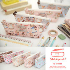 Afrocat Paper Doll Mate Oil Cloth Pouch P Makeup Cosmetic Travel Pens Case Gift