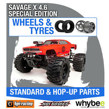 HPI SAVAGE X 4.6 SPECIAL EDITION [Wheels & Tyres] Genuine HPi 1/8 R/C Scale!