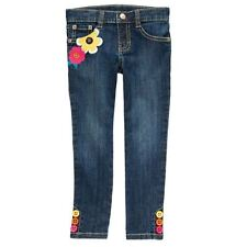 Gymboree Fashionable Fox Girls flower Stretch Jeans pants button 4 5 10 new