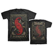 SLIPKNOT Tarot Card,Tour 2016 Official Licensed NEW T-Shirt, Mudvayne,Stone Sour
