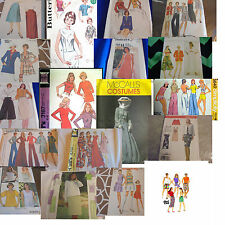 U PICK SEWING PATTERNS VINTAGE 1970S 1980S - MODERN DRESS TOP CARDIGANS SKIRTS
