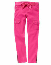NWT Gymboree Fashionable fox Hot Pink Cargo pants girls size 3 3T 4 4T 8 $32.95