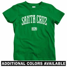 Santa Cruz California Kids T-shirt - Baby Toddler Youth Tee - Gift Cycling Skate