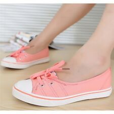 Woman Casual Shoes Comfortable Causal Slip On Canvas Shoes Flats
