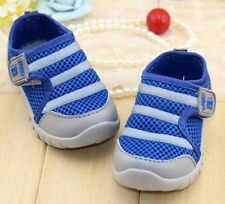Children For Boys & Girls Sports Sneakers Soft Bottom Pink Blue Size 17-22