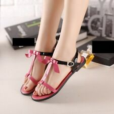 Women Ankle Strap Red Pink Square heel Sandal with Buckle strap (size 33~40)