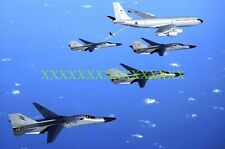 F-111 KC-135 Photo USAF Military Color Photo 8x12 10x14 F 111 KC 135 AIR FORCE