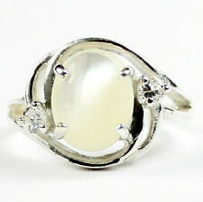 Mother Of Pearl, 925 Sterling Silver Ring, SR021-Handmade