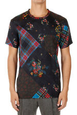 MARC JACOBS Men New Crewneck Patterned Breast Pocket Tee T-Shirt Italy Made