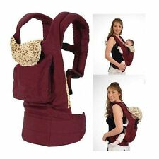 One Adjustable Infant Baby Carrier Sling Newborn Kid Wrap Rider Comfort Backpack