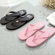 Women comfortable Summer style soft leather new Fashion Flip Flops Slippers