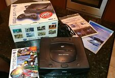 AS-IS Untested Sega Saturn Console with Box 3-Pack Daytona USA Virtua Fighter 2