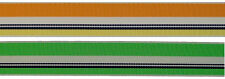 "7/8"" (22mm) Multi-color Stripe Grosgrain Ribbon 1054 (2 yds)"