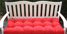 """41"""" X 20"""" Cushion for Swing Bench Glider - Choose Solid Colors"""