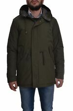 CANADIAN men's eskimo parka with fish tail, TERRANOVA ARMY green, regular fit