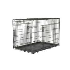 American Kennel Club Large Steel Wire Mesh Dog Crate Home Travel Pet Supplies