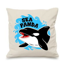 Sea Panda Killer Whale Cute Baby Free Willy Custom Cushion Cover Gift