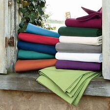 US-Twin Size Bedding Collection 1000 TC Egyptian Cotton All Solid Colors !WOW