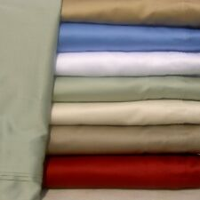 4 PC BEDDING SHEET SET 1000TC EGYPTIAN COTTON  ALL SIZE& ALL COLOUR SOLID-STRIPE