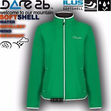 Dare2b Jacket Womens Attentive Softshell Walking Hiking Running Outdoor Gym Top