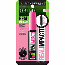 NEW Maybelline New York Great Lash Real Impact Mascara Pick Your Color! .37oz