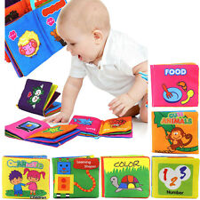 1x Intelligence Development Soft Cloth Cognize Book Educational Toy For Kid Baby