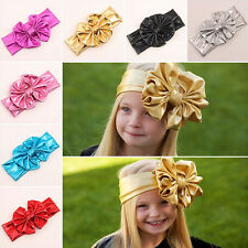 Lovely Kids Girls Baby Toddler Infant Flower Headband Hair Bow Band Accessories