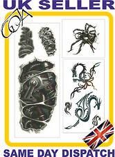 Fab 3d Temporary Tattoos Paper Body Sticker Tattoo Men Women Fake Tattoo