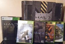Halo Reach Legendary Edition Xbox 360 CIB Noble Team Statue W/ Extra Games V.G.