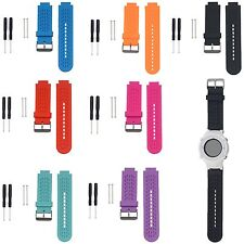 Silicone Strap Bracelet For Garmin vivoactive/Approach S2/Approach S4 GPS Watch