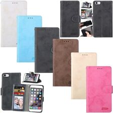 New Flip Leather Wallet Cards Stand Photo Frame Case Cover For Apple iPhone 6