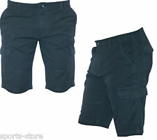 New Mens Shorts Casual Summer Designer All Sizes Combat Cargo Navy Colour.B903