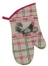 Kay Dee Cotton Oven Mitt - Home to Roost (R6465)
