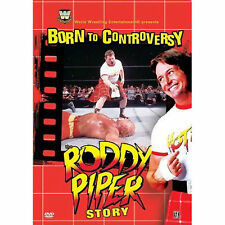 WWE - SEALED Born to Controversy: The Roddy Piper Story DVD WWF WCW wrestling
