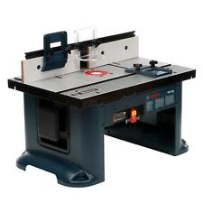 Bosch Router Table Aluminum Power Tool Woodworking Bench 15 Amp Corded Top New