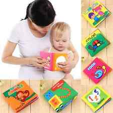 Educational Intelligence Development Soft Cloth Cognize Toy Kids Baby Book CL
