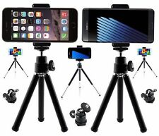 New Metal Mini Tripod Stand For Digital Camera + Holder For Mobile Phone iPhone