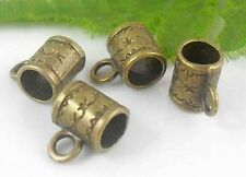 Free Ship 26Pcs Bronze Plated (Lead-Free)Connectors Findings 8x6mm