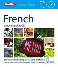 Phrase Book and CD: French Phrase Book by Berlitz Publishing (2012, Mixed Media)