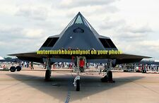 F-117A Nighthawk Stealth Fighter Color Photo Military USAF Aircraft F 117 2003