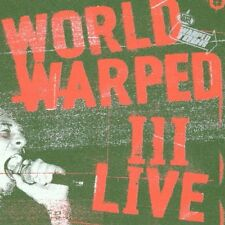 COMPILATION OF WARPED MUSIC - World Warped 3 Live - CD ** Like New - Mint **