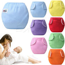 Stock Baby Newborn Diaper Cover Adjustable Reusable Washable Nappies Cloth Wrap