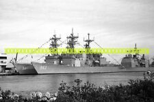 USS SPRUANCE DD-963 USS JOHN HANCOCK DD-981 Photo USN NAVY Military Destroyer