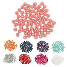 80pcs Flower Decoration Faux Pearl Round Beads Wedding Bridal Supplier