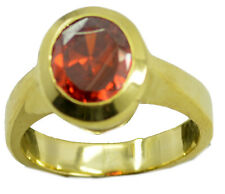 Ruby CZ Gold Plated Ring radiant Red wholesale AU K,M,O,Q